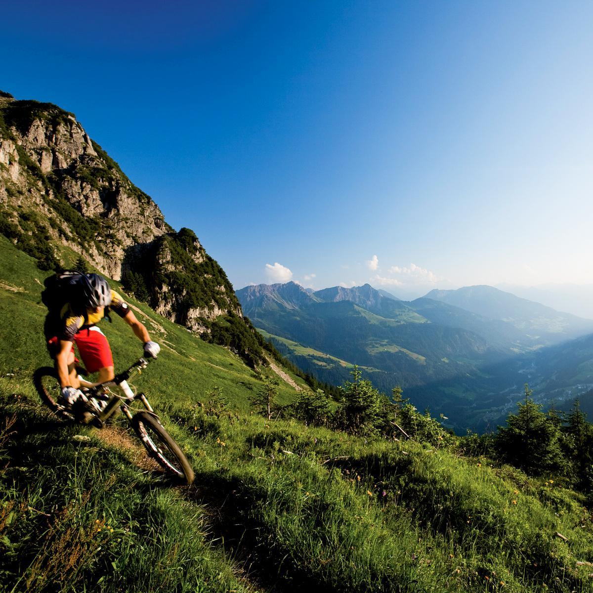 Mountainbiking im Walsertal